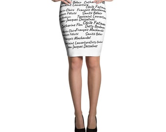 Ancestors Pencil Skirt