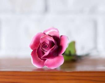 Porcelain Rose Stem