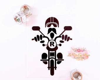 Motorcycle Gifts, Motorcycle Decal, Harley Decal, Motorcycle Yeti Decal, Mug Decal, Instant Pot Decal, Car Decal, Water bottle decal
