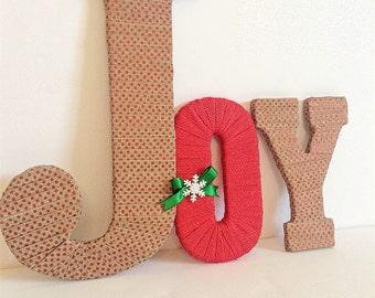 Noel letters noel vintage christmas mantle christmas home