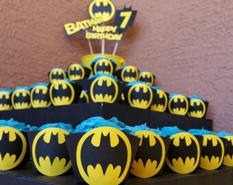 Batman backdrop Etsy