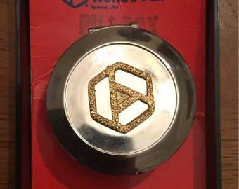 1974 Worlds Fair Expo Pill Box ~ Stash Box ~ Souvenir Collectible ~ Spokane ~ Vintage