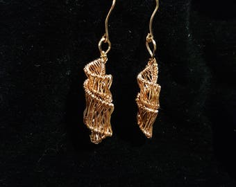 Handmade Woven Earrings