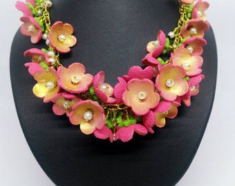 Blossoms in Bloom Necklace