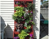 DIY Recycled Wooden Pallet Large Vertical Planter Instant Download Instructions