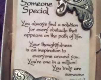 """Arts in Stone """"Someone Special"""" Plaque"""
