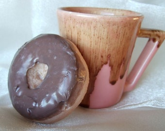 Chocolate Dipped Donut Soap