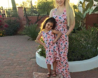 Matching Mother Daughter Dress | Mommy and Me Dress | Mom and Me Set | Mommy and Me Dresses