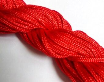 1 m red nylon thread