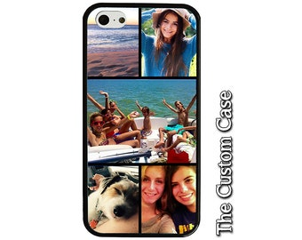Custom Photo Collage Phone Case, Selfie Phone Case, Iphone X Case, Your Photo Here, Family Phone Case, Iphone 8, Samsung Galaxy Case, Note 8