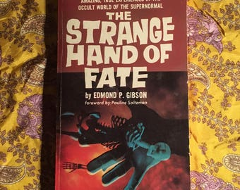 The Strange Hand of Fate by Edmond P. Gibson - 1967 paperback