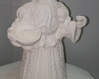 Santa with Wassail Bowl