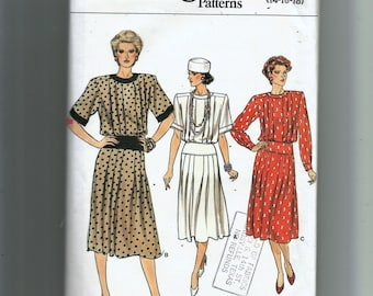 Vogue Misses'  Dress Pattern 9343