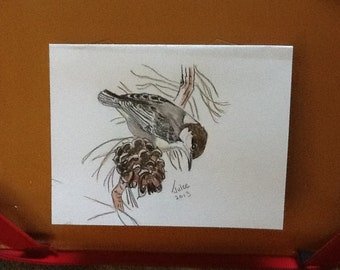 Bird card or picture