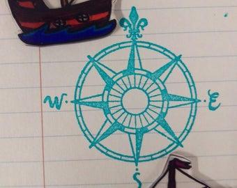 Ship Earrings