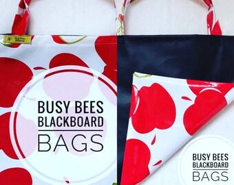 Blackboard library bag, shopping bag, toy bag, chalkmat bag, balckboard bag, kids bags