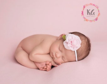 Baby Headband, Baby Girl Headband, Newborn Headband, Flower Headband, Infant Headband, Newborn Girl, Girls Headband, Pink Headband