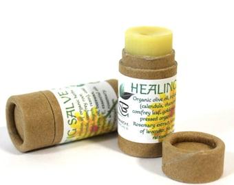Herbal Healing Salve New Zero Waste Packaging!