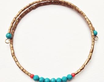 Egyptian Inspired Eco Friendly Minimalist Bracelet