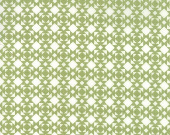 Lineoleum in leaf, Nest, Lella Boutique for Moda 5064 11