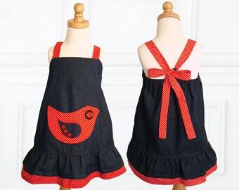 Girls dress patterns PDF, Childrens sewing pattern pdf, kids patterns, girls sewing pattern pdf, sewing pattern for girls, ROBIN DRESS