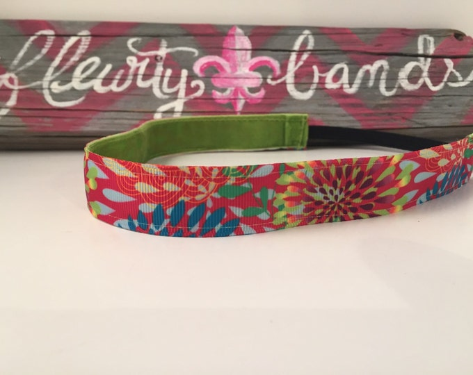 Nonslip headband|Brighter Flowers|Fitness Headbands