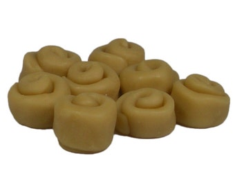 CINNAMON BUN Wax Melts, Wax Tarts, Scented Embeds, Shaped Wax Melts - Highly Scented
