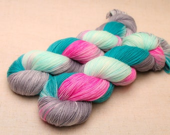 hand dyed yarn 'Say it First' Sock