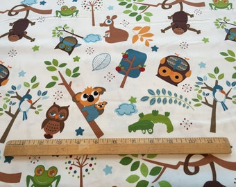 Riley Blake Designs ~ Hoot toss quilt cotton
