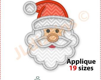 Santa Applique Design. Santa embroidery designs. Embroidery applique design Santa. Christmas applique. Christmas machine embroidery design
