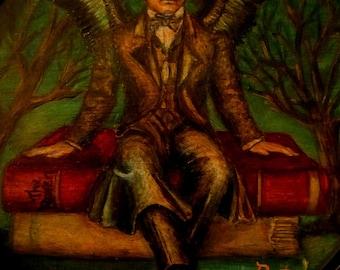 "Print - Edgar Allan Poe - ""Poe as Muse"""