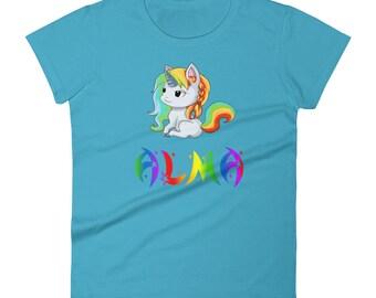 Alma Unicorn Ladies T-Shirt