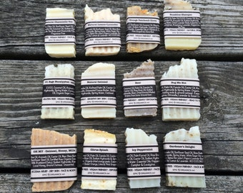 Try Em Out -Sample Soap-Hotel Size-Gift Size-Mini Soap-Fragrant-Essential Oils
