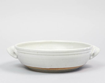 Open Casserole, hand thrown stoneware pottery by Hanselmann Pottery