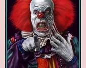 iT Pennywise Clown Meltin...