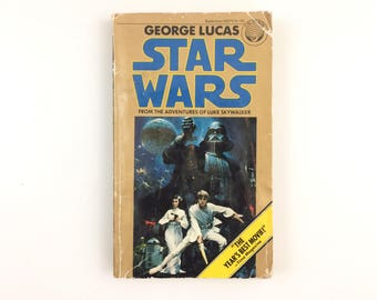Vintage 1977 George Lucas Star Wars From The Adventures Of Luke Skywalker Paperback Book
