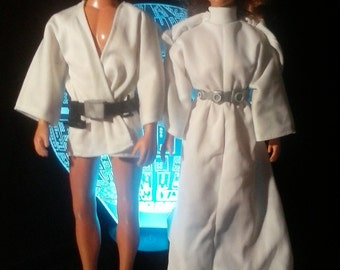 Star Wars Figures 12 inch  Vintage 1970's Dolls with Accessories Lot
