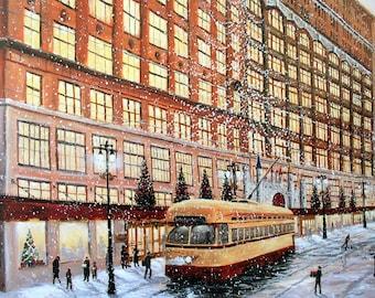 Hudsons,Christmas on Woodward