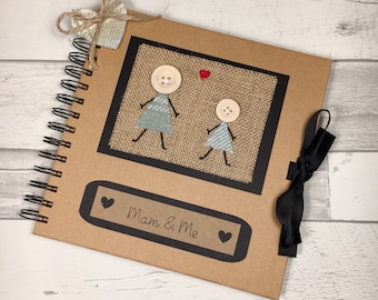 Mam and Me, Gift for Mam, Mothers Day Gift, Birthday Gift for Mam, Keepsake for Mam, Memory Book, Scrapbook, Mams Memories