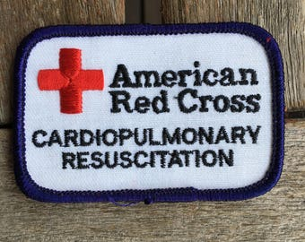 American Red Cross Cardiopulmonary Resuscitation (CPR) Patch