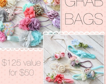 Grab Bag Sale - blind bag discounted array of headbands