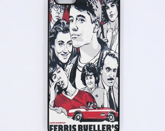 Iphone 7 plus  6 iphone 5 iphone 4 4S  Ferris Bueller Movie Posters case mobile cell Phone case cover cell phone snap case black blue