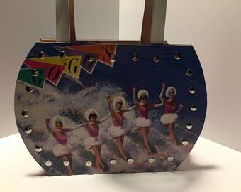 Go Go's Vacation vinyl record purse