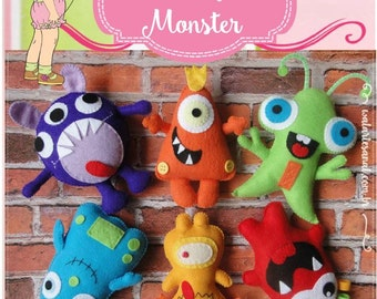 Lovely Monsters - PDF Pattern