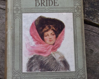 Vintage Book Pretty Binding 1900s The Missing Bride by Mrs. Eden Southworth