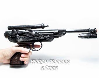 1:1 Scale DL-18 Star Wars Jabba The Hut Skiff Guard Blaster Pistol -Return of the Jedi - Hand Painted - cosplay costume prop