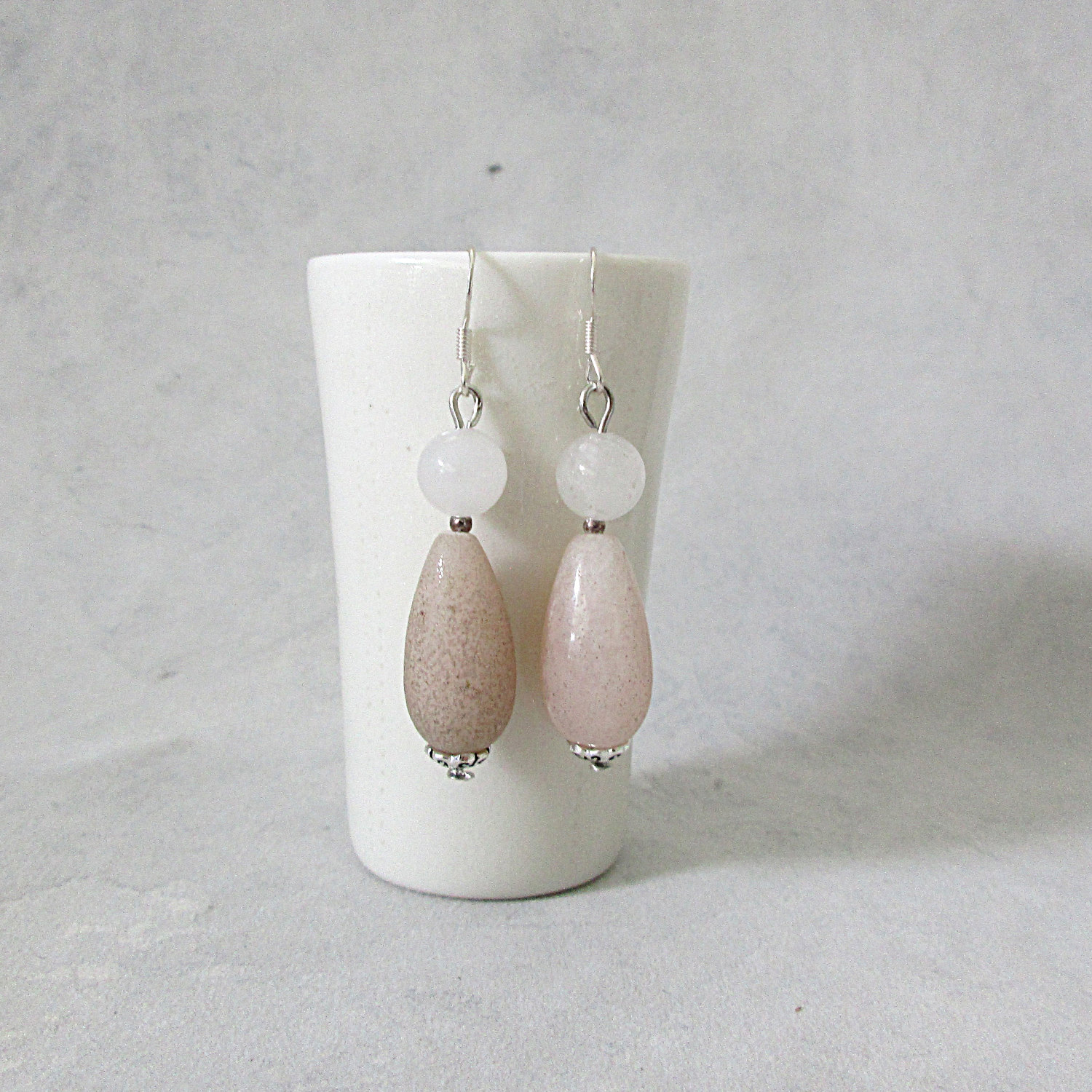 june earrings white jewelry photos beaded product panacea hoop home