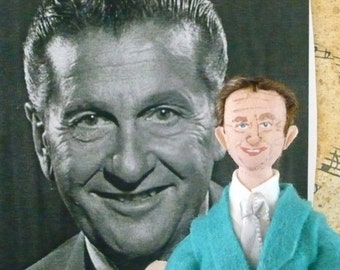Lawrence Welk Doll  Miniature Fan Art Collectible