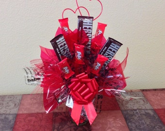 Hugs and Kisses Candy Bouquet