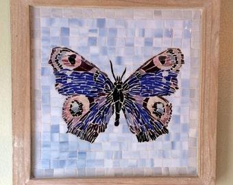 Mosaic glass butterfly